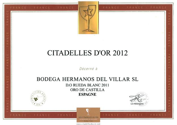 Les Citadelles du Vin 2012