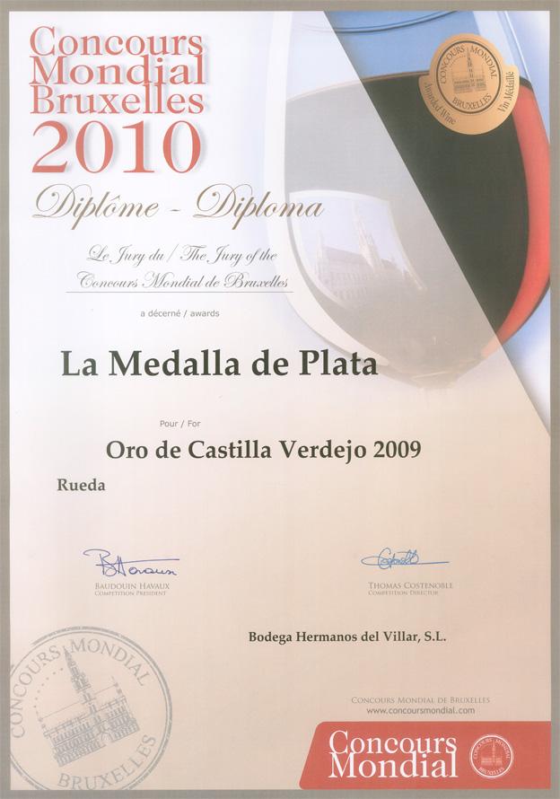 Concours Mondial Bruxelles 2010