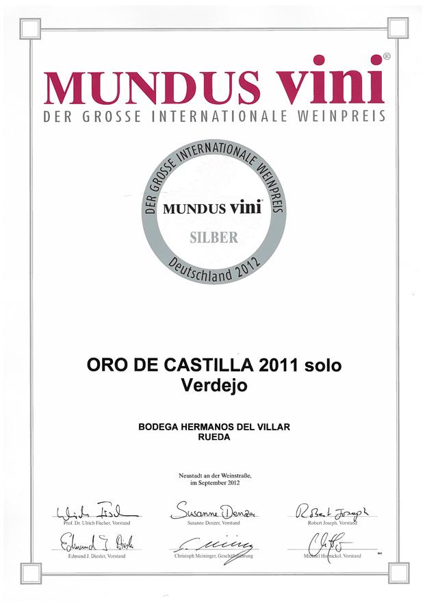 Mundus Vini 2012