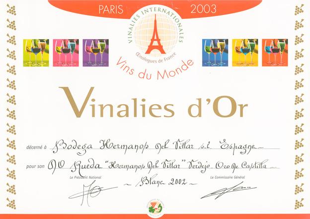 Vinalies Internationales 2003