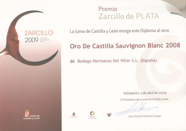 Concurso Internacional de Vino Zarcillo 2009