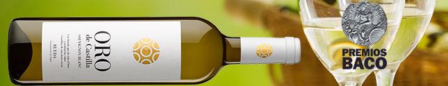 Oro de Castilla Sauvignon Blanc 2015, Baco de Plata