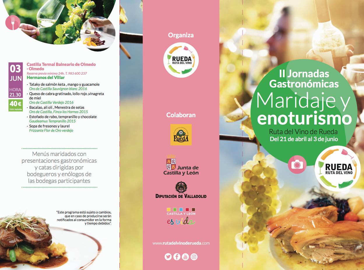 """Broche """"de oro"""" a las II Jornadas Gastronómicas Maridaje y Enoturismo de la Ruta del Vino de Rueda"""
