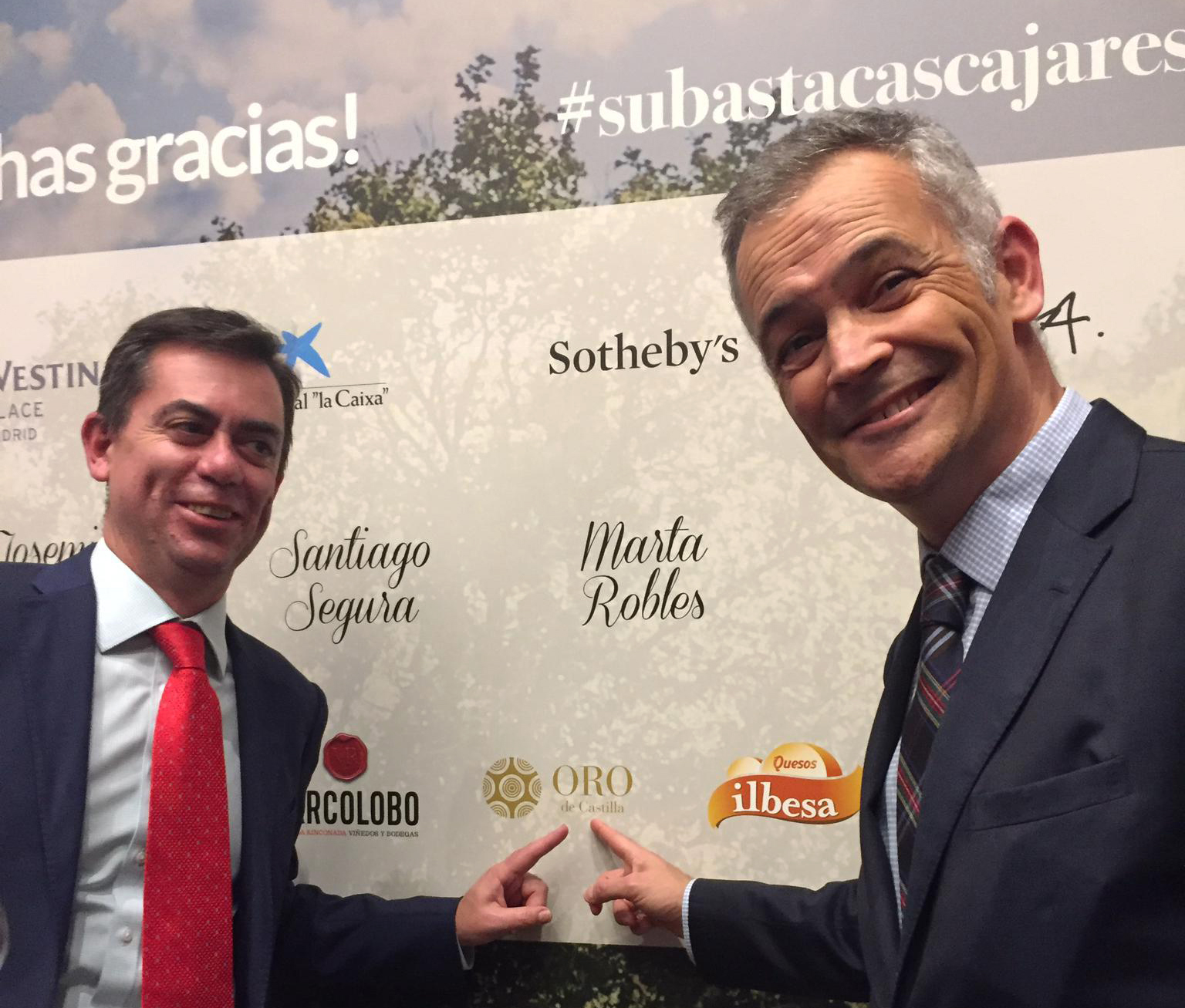Un año más, Oro de Castilla participa en la subasta benéfica de Fundación Cascajares