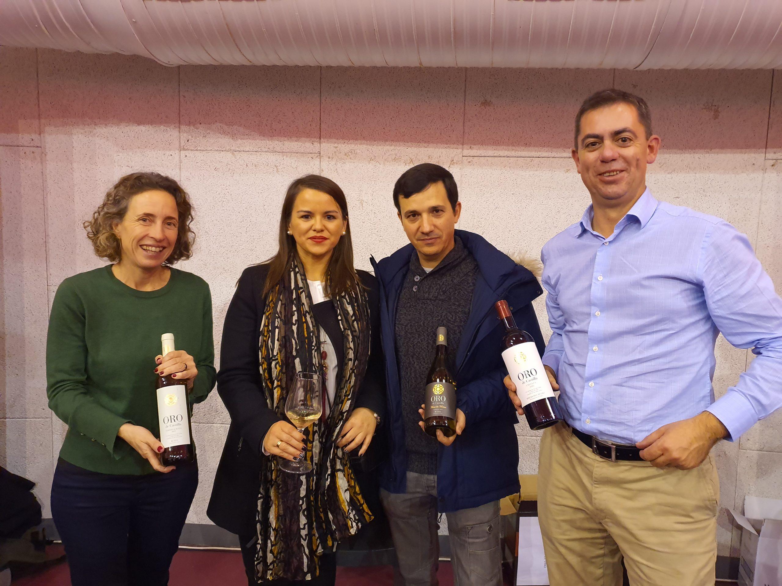 Oro de Castilla, en el II Aniversario de Jóvenes por el Vino