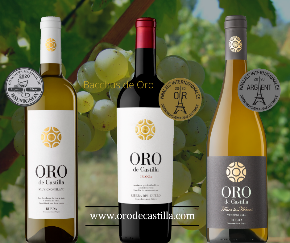 Un mes cargado de premios para los vinos Oro de Castilla