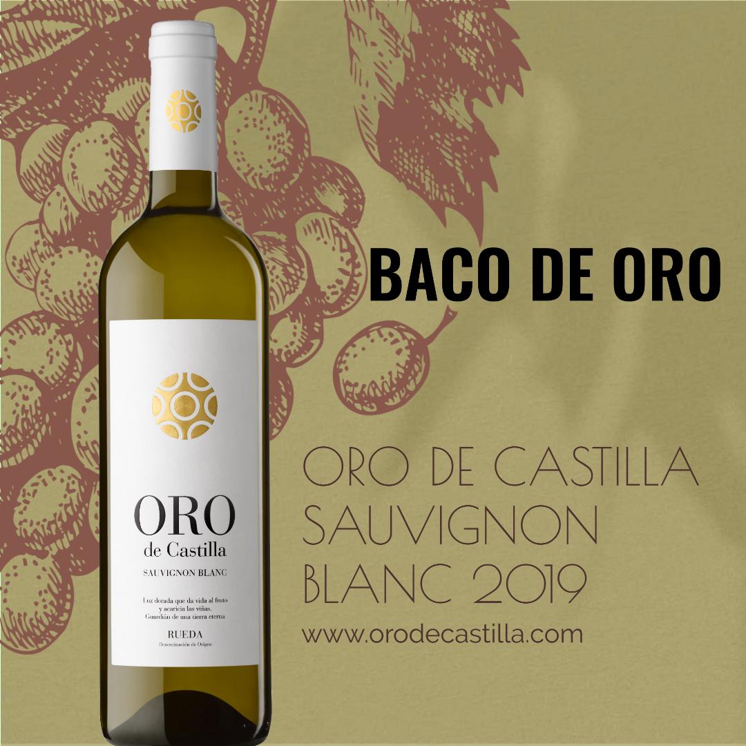 Baco de Oro para Oro de Castilla Sauvignon Blanc 2019
